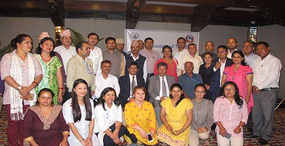 Nutrition stakeholders in Nepal
